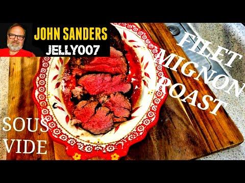 HOW TO SOUS VIDE BEEF TENDERLOIN ROAST FILET MIGNON