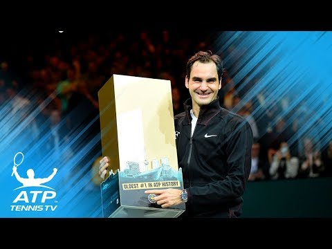 Roger Federer World No.1 presentation and speech! | Rotterdam 2018