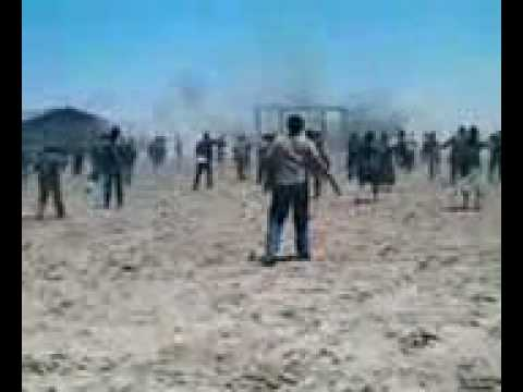 Resident Evil Extinction: behind the scenes @ Mexicali