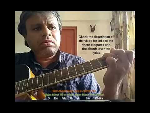 [Malayalam] Learn to find the scale/chords of a song on guitar (using 'Aayiram Kannumai') - Part 2