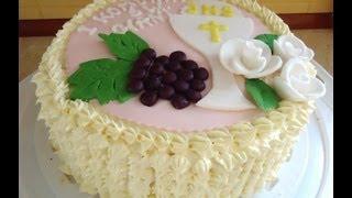 Jak zrobić tort komunijny? How to make a cake communion?