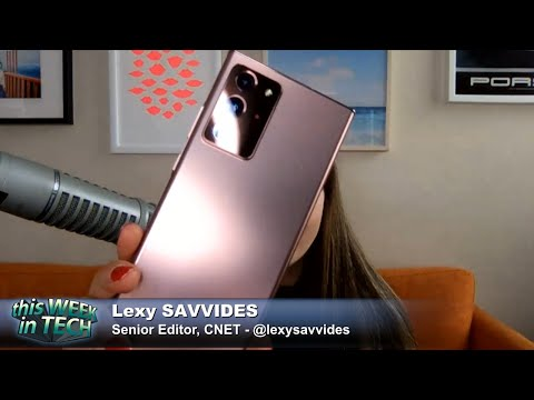 The Galaxy Jaffle - Trump vs Tik Tok, Samsung Galaxy Note 20 Review, Black Hat/DEFCON Recap