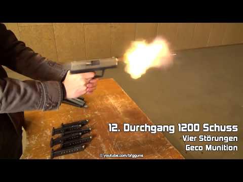 Röhm RG96 3000 Schusstest