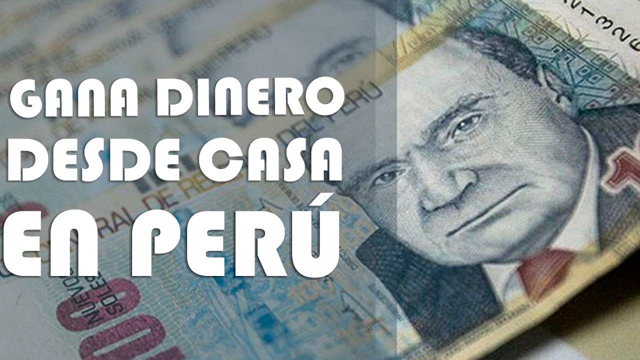 Gana Dinero Desde Casa En Peru Aprende A Ganar Dinero Por Internet En Perú Youtube