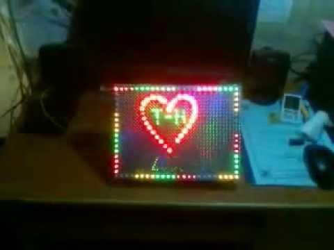 Led trái tim phiên bản 3.0