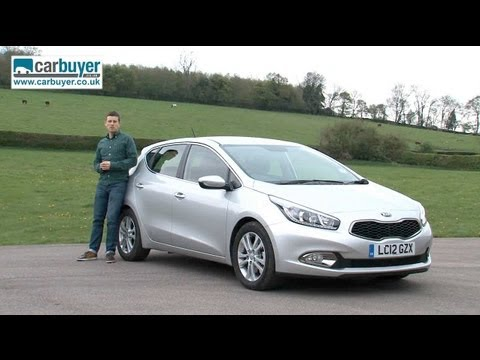 Kia Cee d hatchback review CarBuyer
