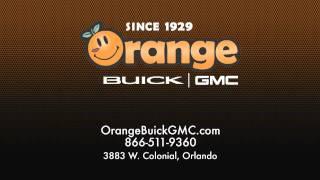 Orange GMC Trucks Business Central