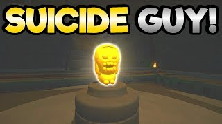 Suicide Guy - THE GOLDEN TOKEN! - Let's Play Suicide Guy Gameplay