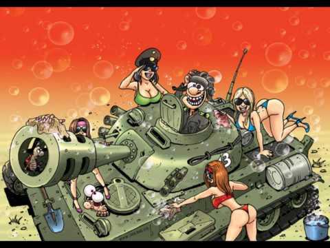 карикатуры про танкистов