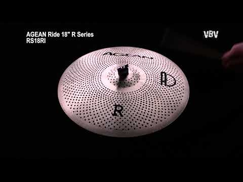 "18"" Ride R Series - Silent Cymbal video"