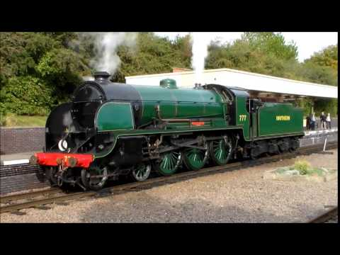 GCR Autumn Steam Gala 2014 - YouTube