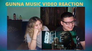 GUNNA -DOLLAZ ON MY HEAD   Official Music Video  REACTION