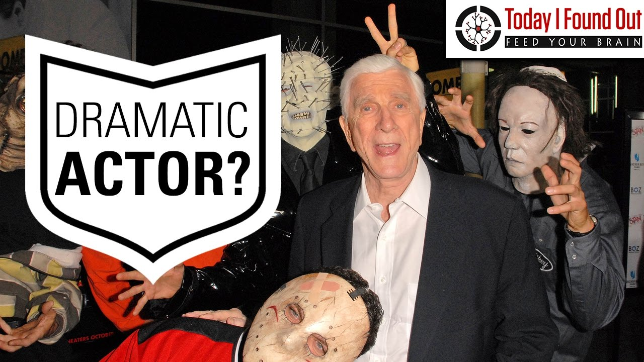 From Longtime Dramatic Actor to Total Goofball The Story of Leslie Nielsen
