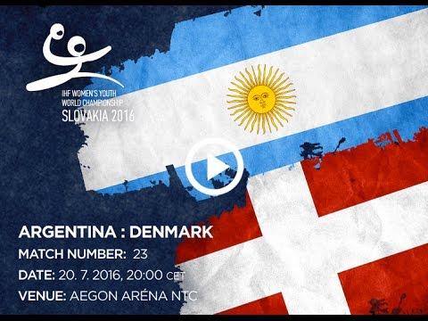 ARGENTINA : DENMARK
