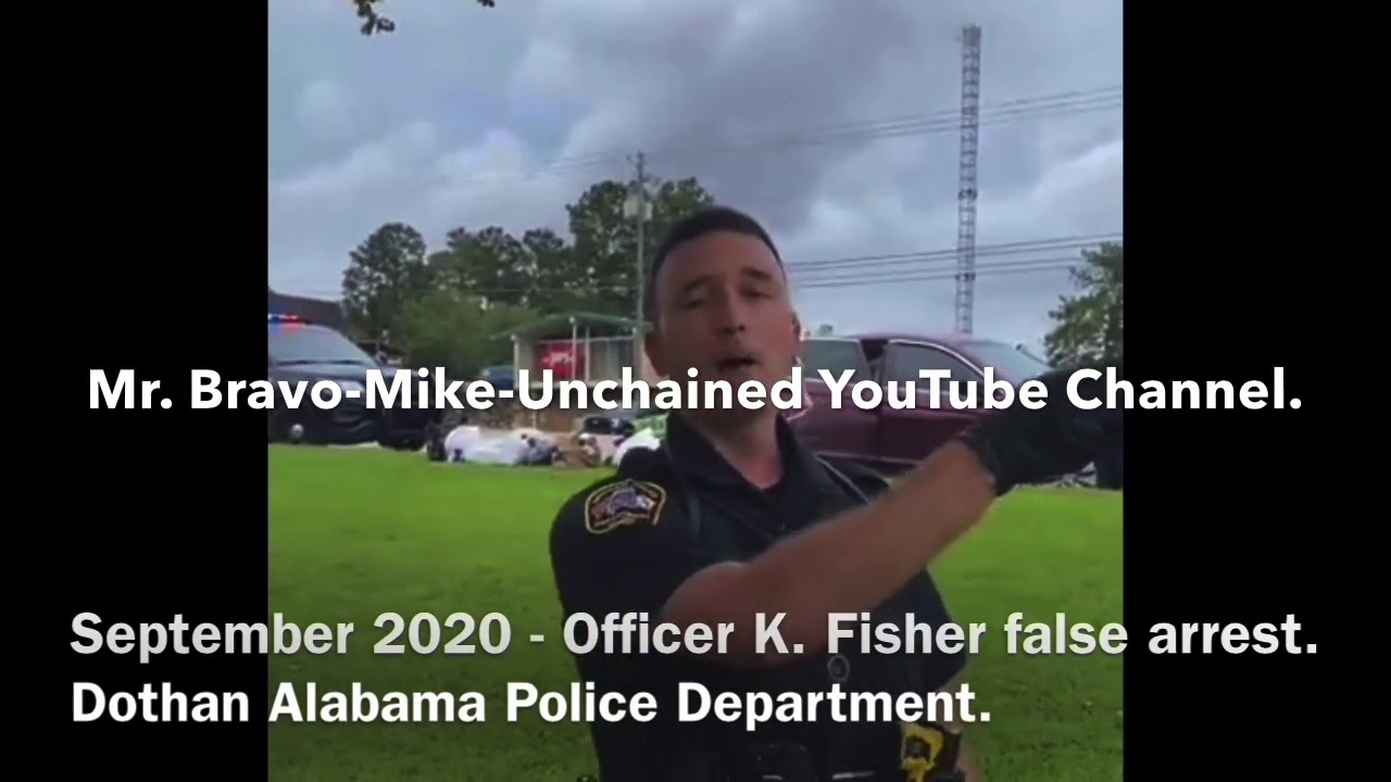 Officer K. Fisher A Serial Civil Rights Violator