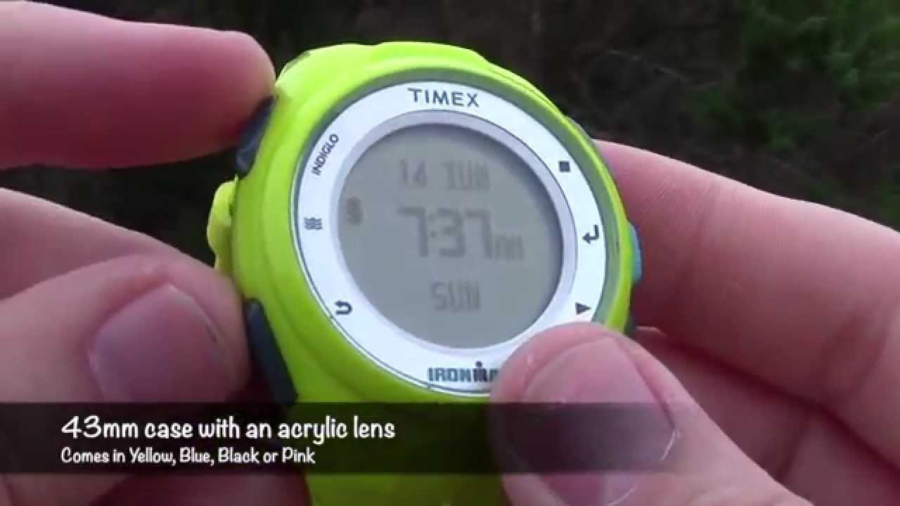 77a5b05e2 Timex Run X20 GPS Watch Gear Review - YouTube