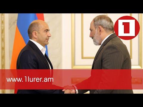 Նիկոլ Փաշինյանը հանդիպել է Էդմոն Մարուքյանի հետ