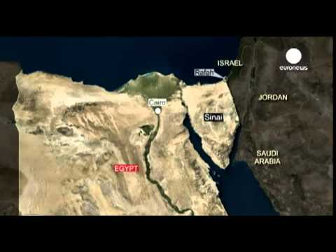 Egyptian troops killed in militant attacks in the Sinai Peninsula