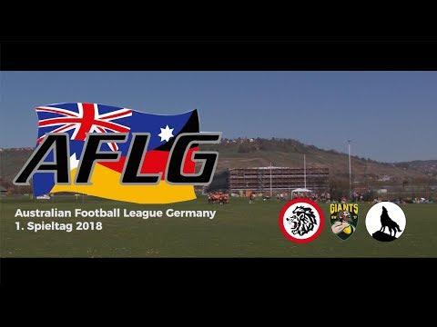 Australian Football League Germany 1. Matchday 2018
