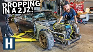 2JZ Install on Danger Dan's $500 Nissan 240SX!
