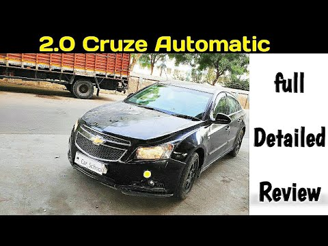 Chevrolet Cruze Automatic LTZ | Honest Review After 50k Kms & Specifications | Hindi |#Car_School