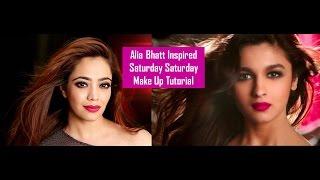 vuclip FOMO : Alia Bhatt Inspired Saturday Saturday Make Up Tutorial l Humpty Sharma Ki Dulhania (Hindi)
