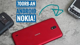 Unboxing & Review Nokia C1 Indonesia !.