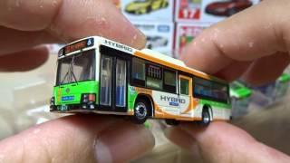 ザ・バスコレクション 都営バス いすゞエルガ 5台セットA 開封