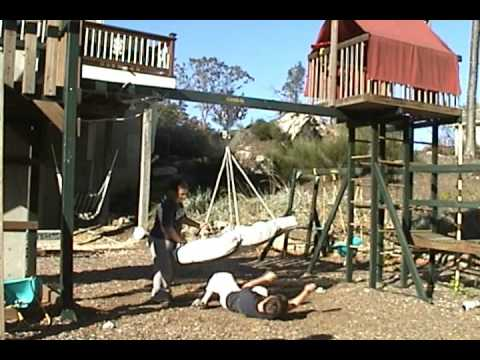 Crazy Mattress Swing Stunt Version 2