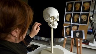 A face from the past: Restoring a mummy
