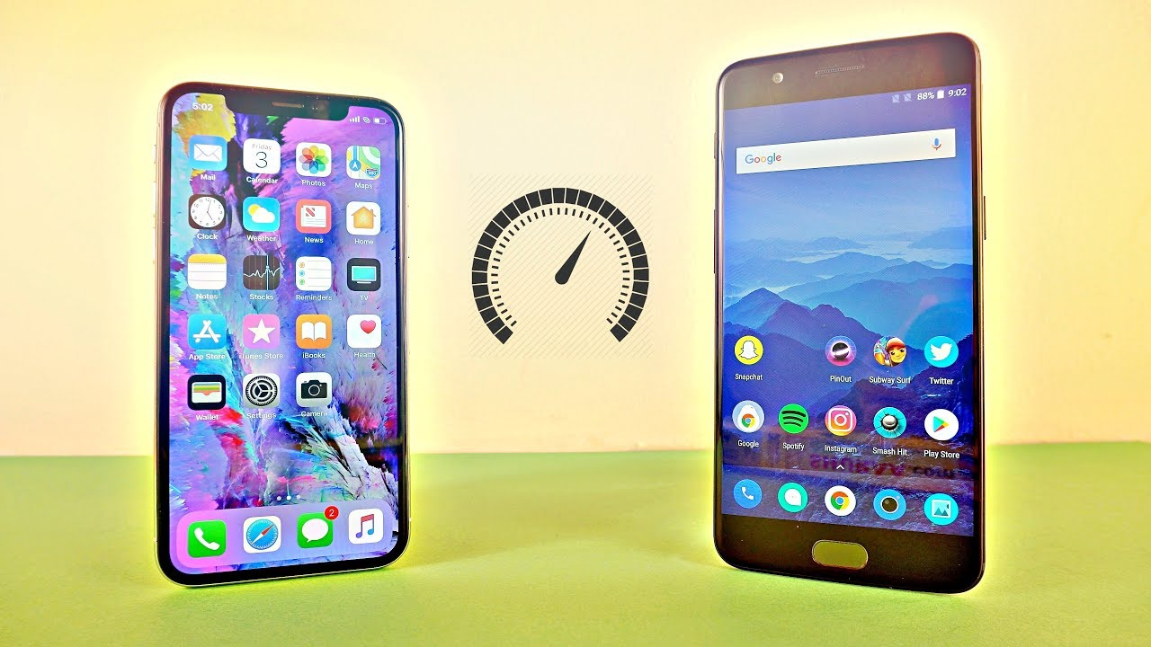 how to speed up iphone 5 iphone x vs oneplus 5 speed test 4k 19108