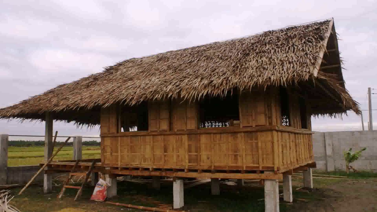 Bamboo house models in the philippines
