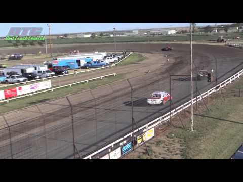 IMCA Stock Car Heats Wakeeney Speedway 7 27 14
