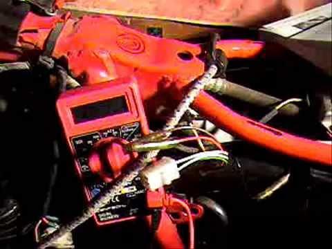 Yamaha TT600 alternator test YouTube