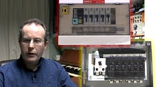 old consumer units - square d qwikline & crabtree c50 - youtube  youtube