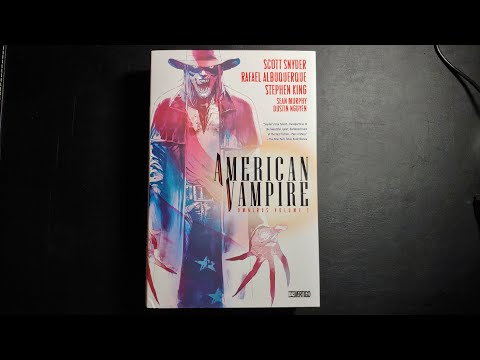 American Vampire Omnibus Vol 1 Overview
