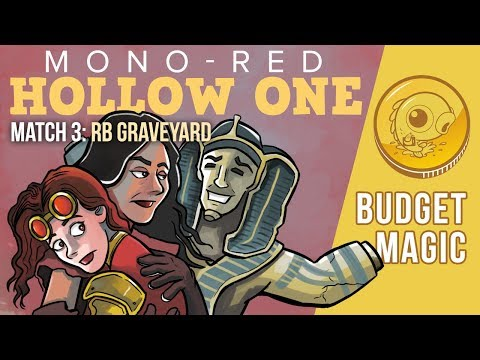 Budget Magic: Mono-Red Hollow One vs RB Graveyard (Match 3)