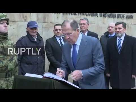 LIVE: Lavrov to receive gift from Serbian officials on behalf of deceased pilot Peshkov's family