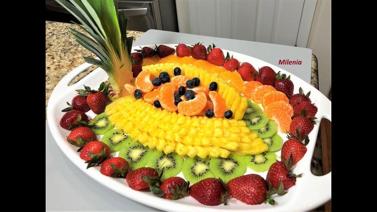 ФРУКТОВАЯ НАРЕЗКА. Вкусный  Праздничный Десерт всем поднимет настроение!