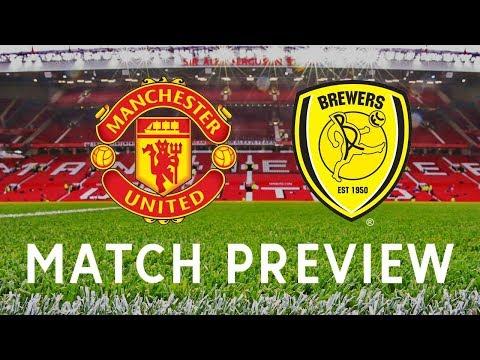 Manchester United vs Burton Albion   Carabao Cup