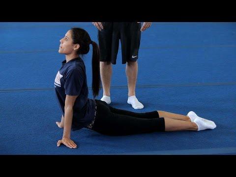 How to Do a Back Walkover   Gymnastics Lessons