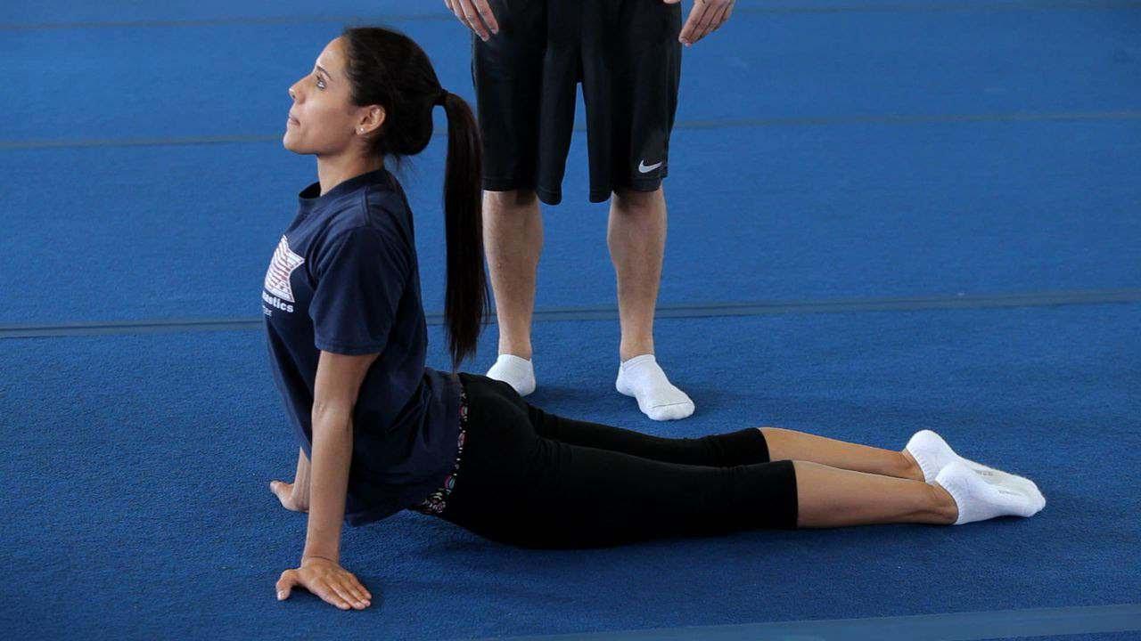 How to Do a Back Walkover | Gymnastics Lessons