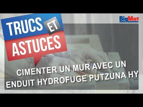 Cimenter Un Mur Exterieur Avec Un Enduit Hydrofuge Putzuna Hy Youtube