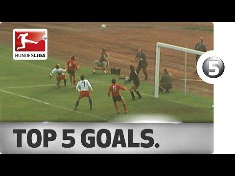 Top 5 Goals - Hamburger SV Legend Uwe Seeler