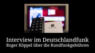 Roger Köppel im Deutschlandfunk