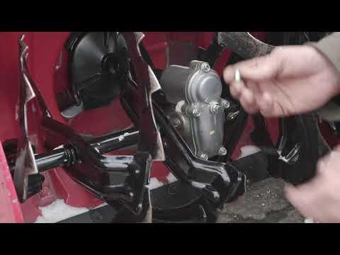 How to Install a Shear Pin on a Honda Snowblower
