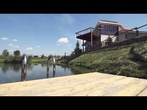 Загородный дом с озером, г. Красноярск. Продажа