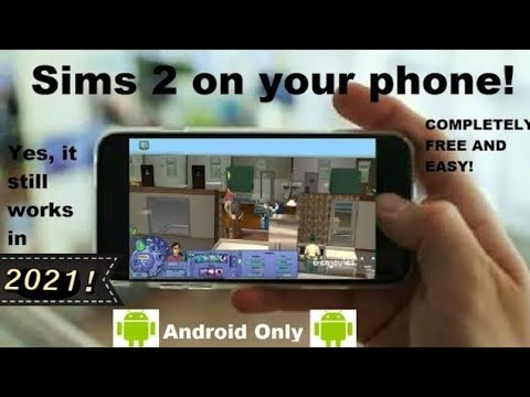 How To Play Sims 2 On Your Phone! 2020