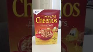 Honey Nut Cheerios Cereal Review