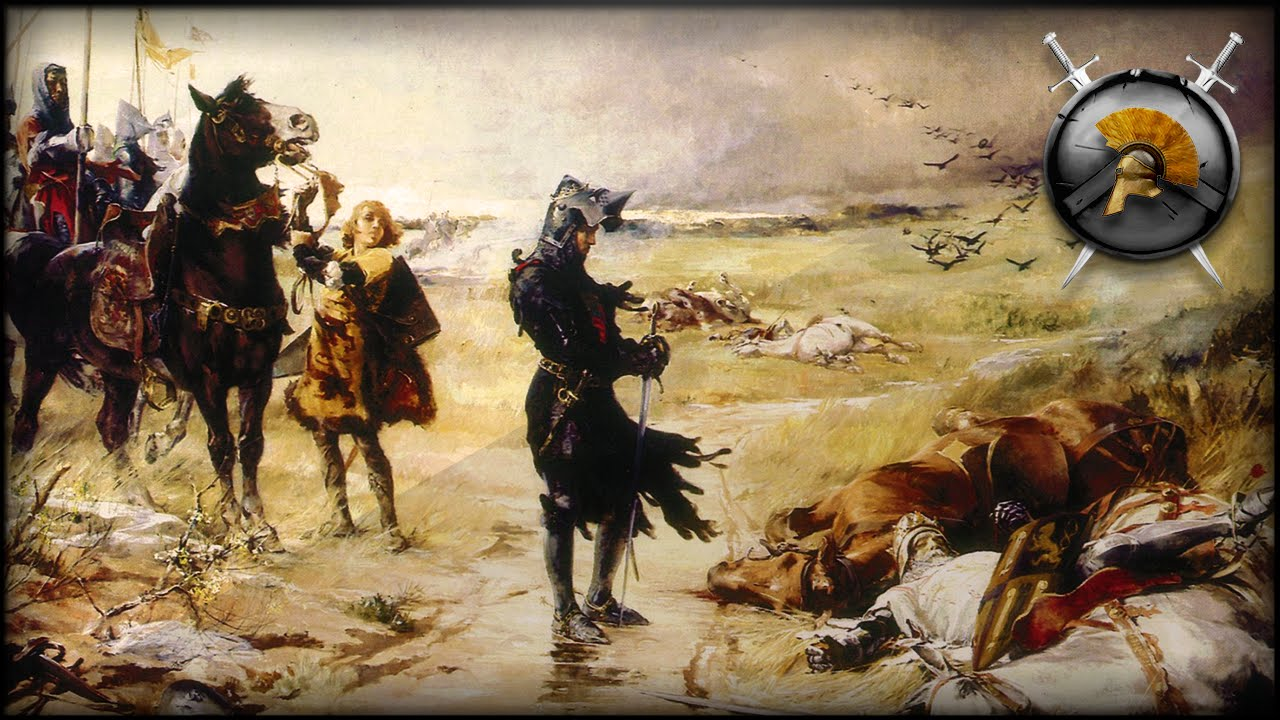 Painting Knight Black Prince